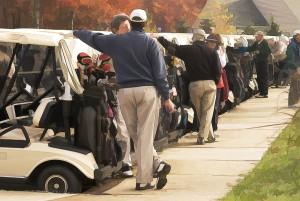 Golfers & Carts SEND